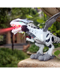 LARGE SPRAY MECHANICAL DINOSAURS WITH WING CARTOON ELECTRONIC TOYS