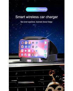 Smart wireless charger & phone holder for car